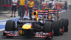 Vettel & Webber - GP Indien 2012 - Formel 1