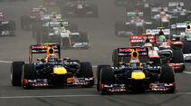 Vettel & Webber GP Indien 2012