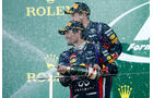 Vettel & Webber - GP Japan 2013