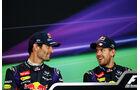 Vettel & Webber - GP Japan 2013