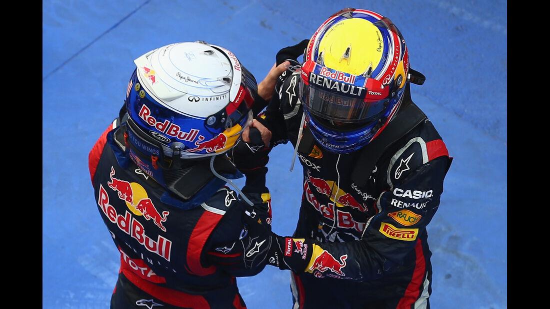 Vettel & Webber GP Korea 2012