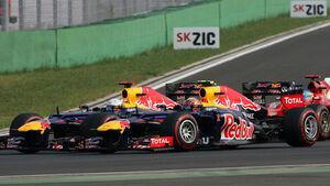 Vettel Webber GP Korea 2012