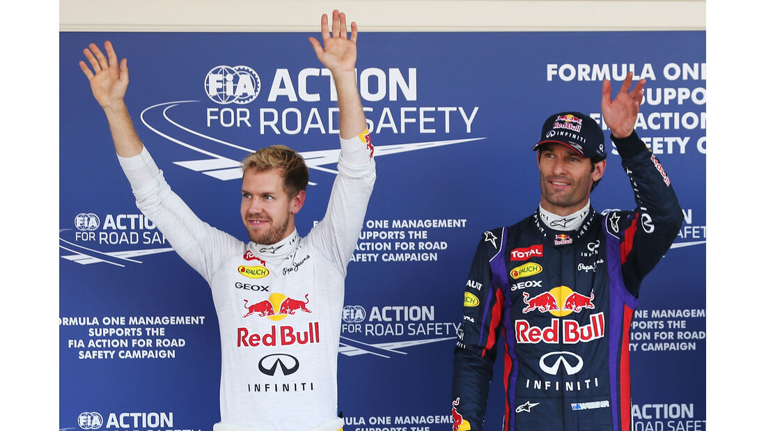 Vettel & Webber - Red Bull - Formel 1 - GP Japan - 12. Oktober 2013