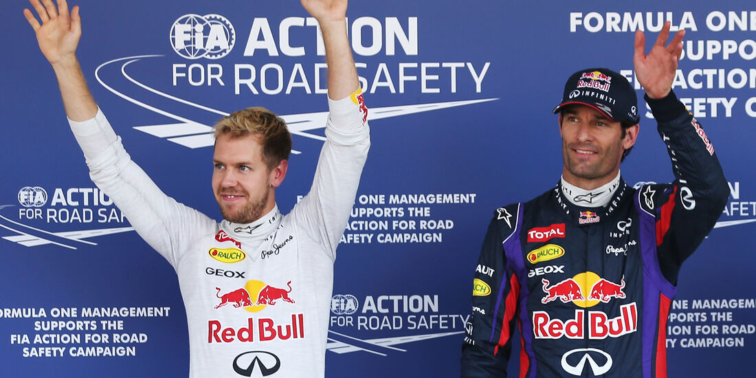 Vettel & Webber - Red Bull - Formel 1 - GP Japan - 12. Oktober 2013