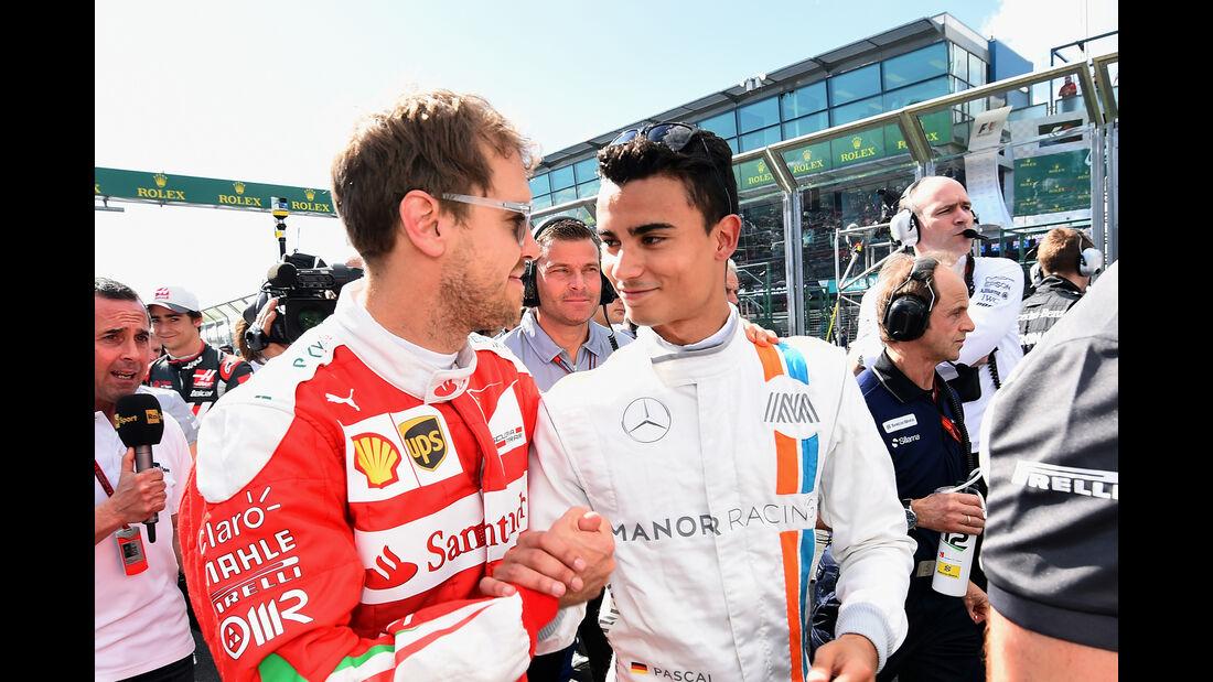 Vettel & Wehrlein - GP Australien 2016