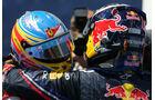 Vettel und Alonso GP Europa Valencia 2011