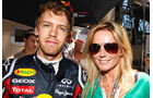 Vettel und Halliwell GP Monaco 2011