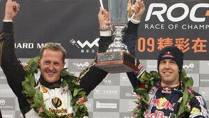 Vettel und Schumacher - Nations Cup-Sieger 2009