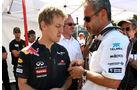 Vettel und Zehnder GP Monaco 2011