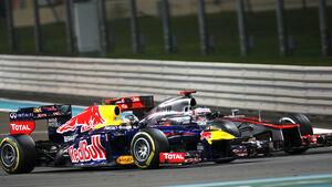 Vettel vs. Button GP Abu Dhabi 2012