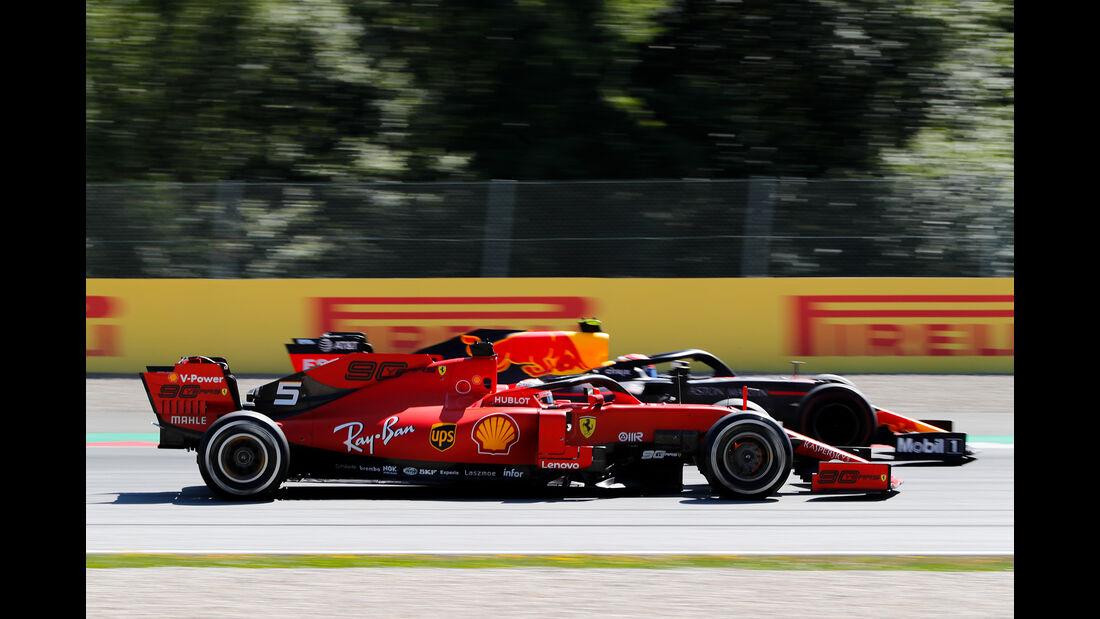 Vettel vs. Gasly - Formel 1 - GP Österreich - Spielberg - 30. Juni 2019