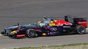 Vettel vs. Hamilton 2013