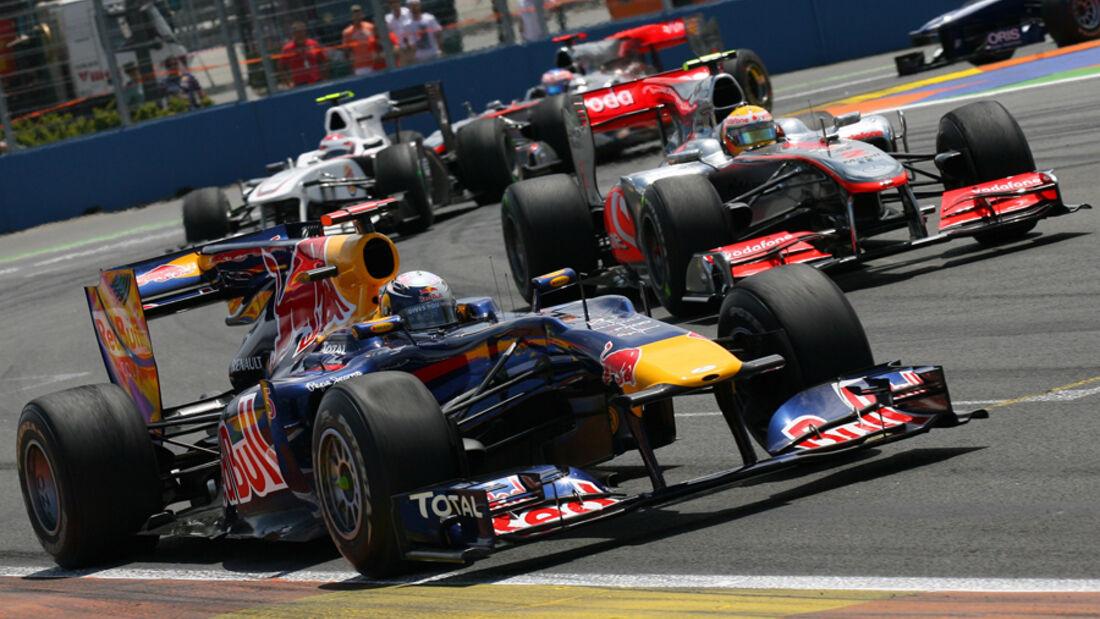 Vettel vs. Hamilton - GP Europa 2010