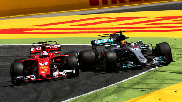 Vettel vs. Hamilton - GP Spanien - Formel 1 - 2017