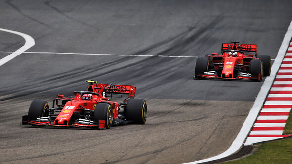 Vettel vs. Leclerc - GP China 2019