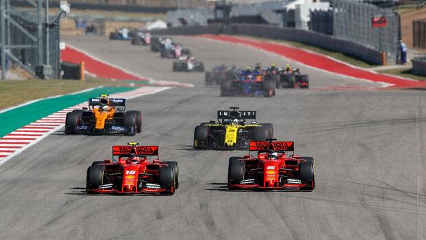 Vettel vs. Leclerc - GP USA 2019