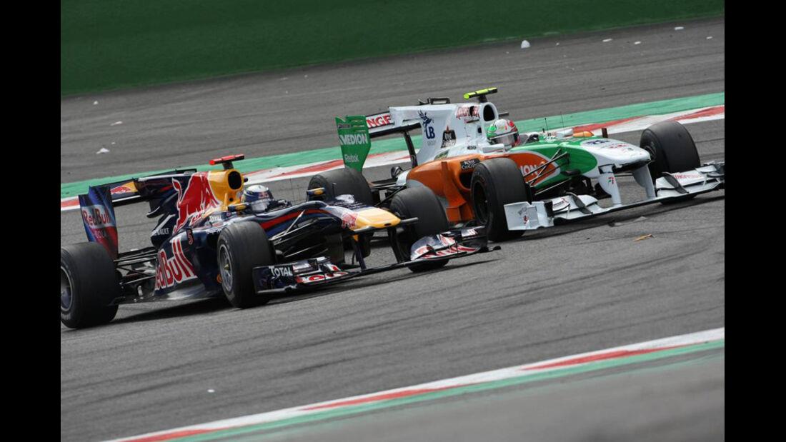 Vettel vs. Liuzzi