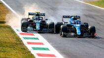 Vettel vs. Ocon - GP Italien - Monza - 2021