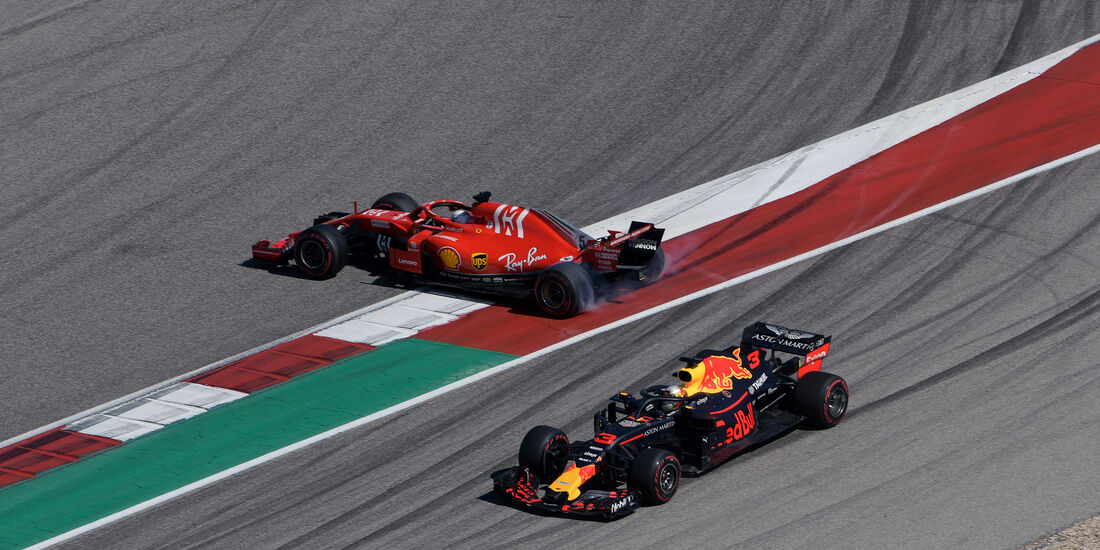 Vettel vs. Ricciardo - Formel 1 - GP USA - Austin - 2018