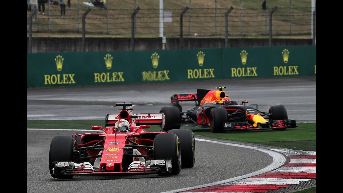 Vettel vs. Verstappen - Formel 1 - GP China 2017