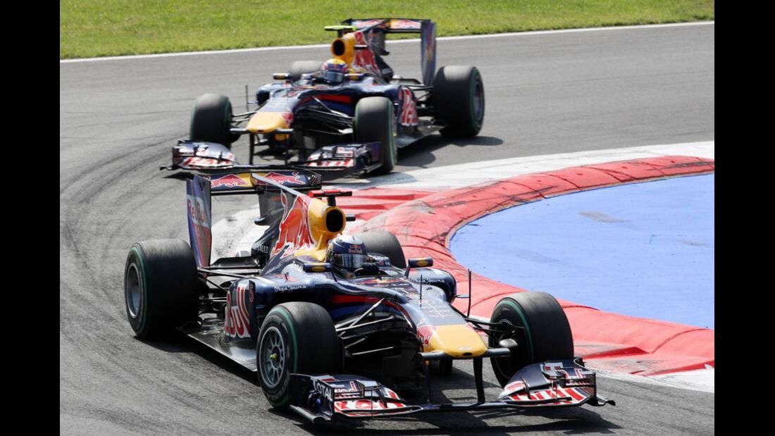 Vettel vs. Webber