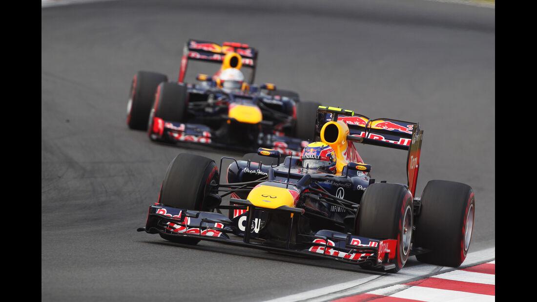 Vettel vs. Webber GP Korea 2012
