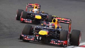 Vettel vs. Webber GP Korea 2012