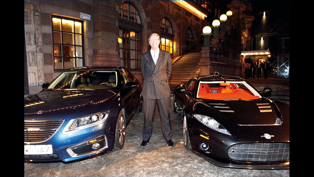Victor Muller Spyker, Saab, Modelle