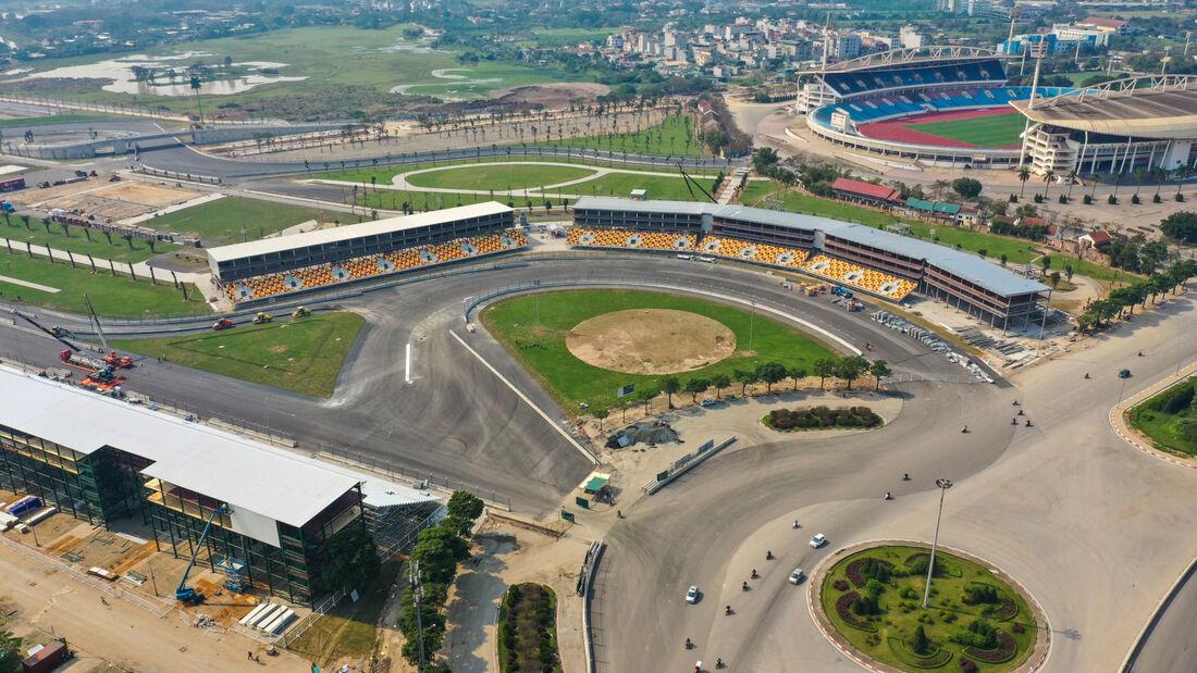 Vietnam - Hanoi - GP-Kurs - Strecke - 2020