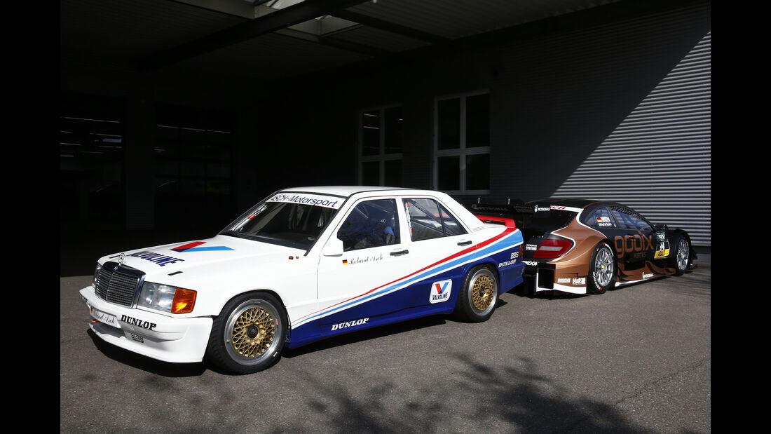 Vietoris & Wehrlein - Mercedes DTM 190 E 2.3-16 (1988) & C63 DTM (2015)