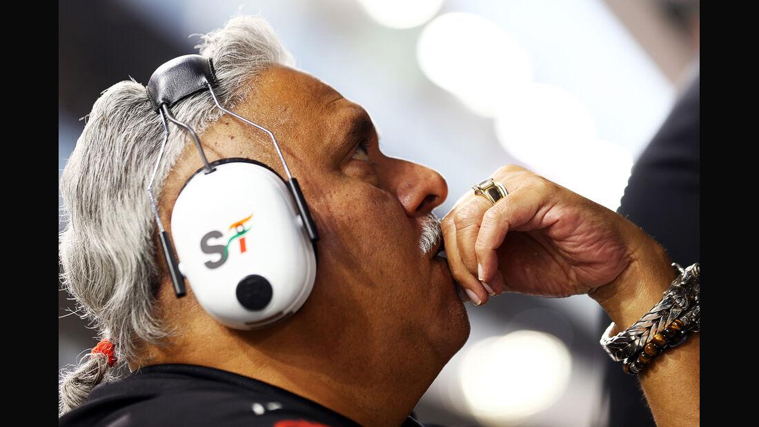 Vijay Mallya - Force India - Formel 1 - GP Abu Dhabi - 22. November 2014