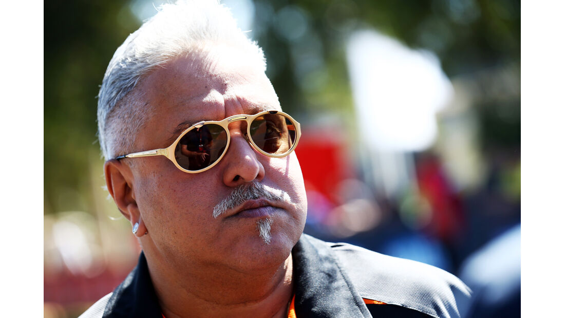 Vijay Mallya - Force India - Formel 1 - GP Australien - 13. März 2015