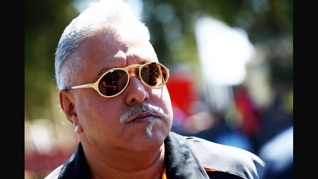 Vijay Mallya - Force India - Formel 1 - GP Australien - 13. März 2015