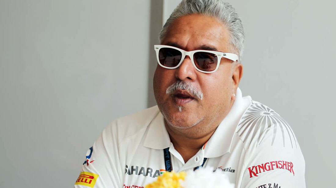 Vijay Mallya - Force India - Formel 1 - GP Indien - 26. Oktober 2013