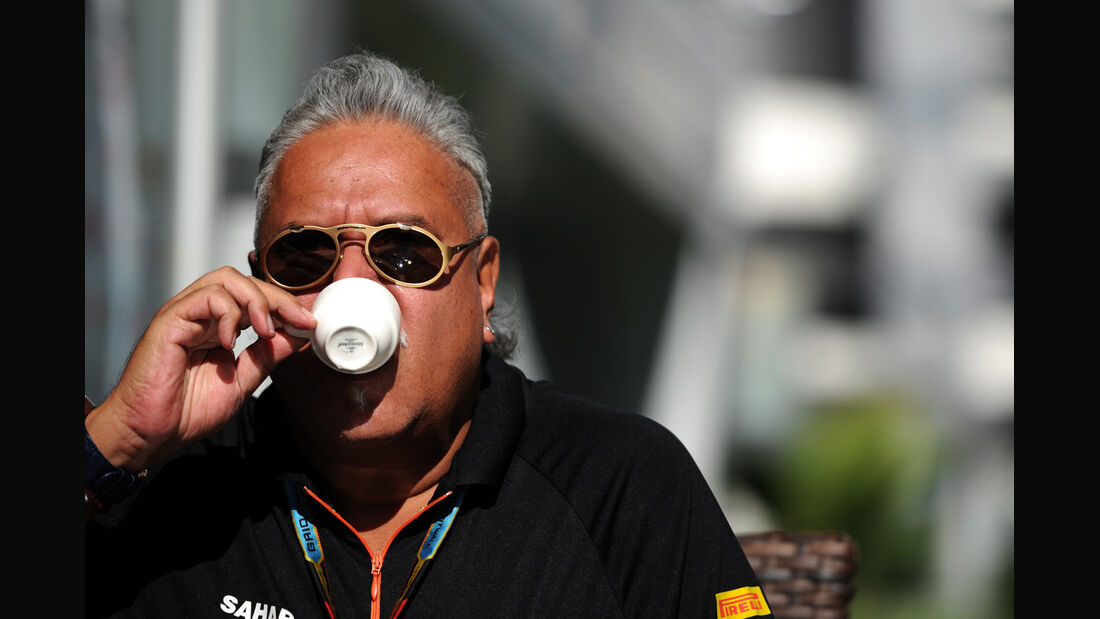 Vijay Mallya - Force India - Formel 1 - GP Russland - 11. Oktober 2014