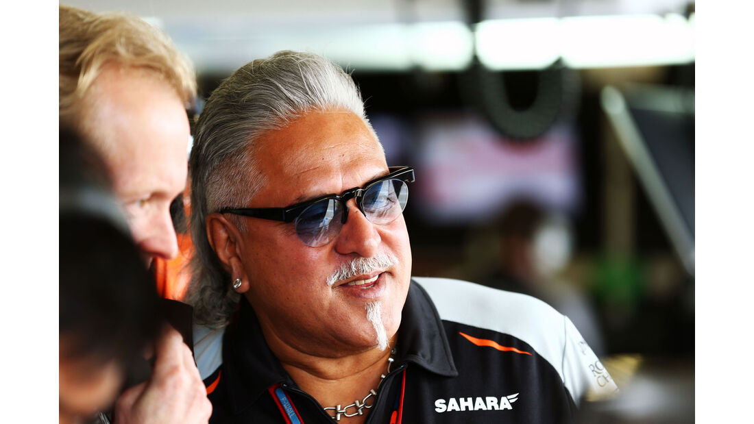 Vijay Mallya - Force India - GP England 2016 - Silverstone - Freitag