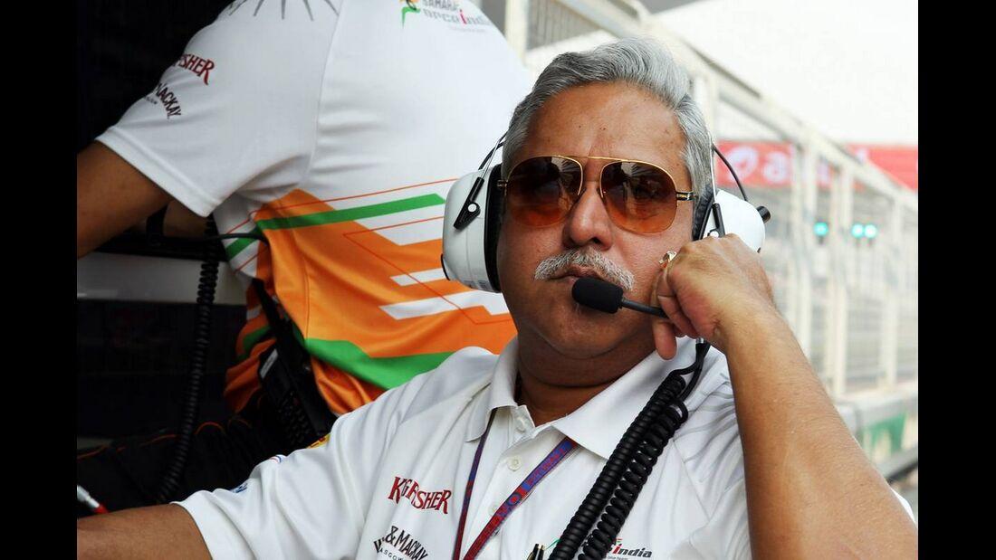Vijay Mallya - Formel 1 - GP Indien - 27. Oktober 2012
