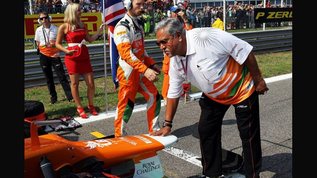 Vijay Mallya  - Formel 1 - GP Italien - 09. September 2012