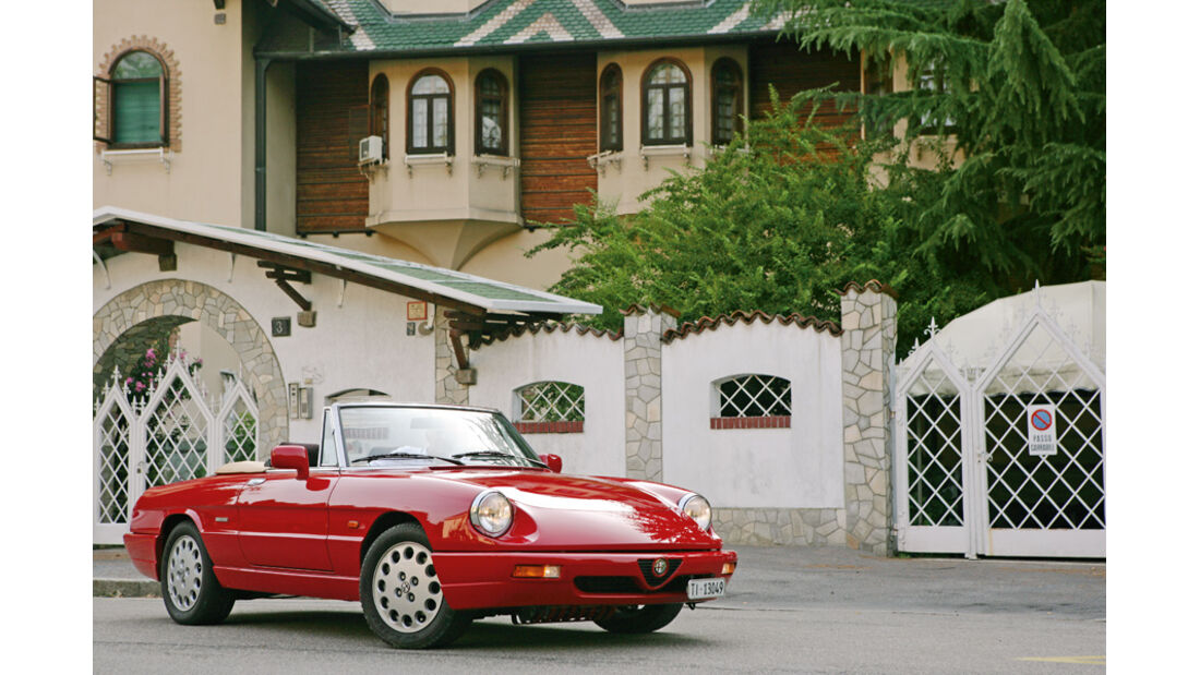 Villa Normanna, Alfa Romeo, Spider