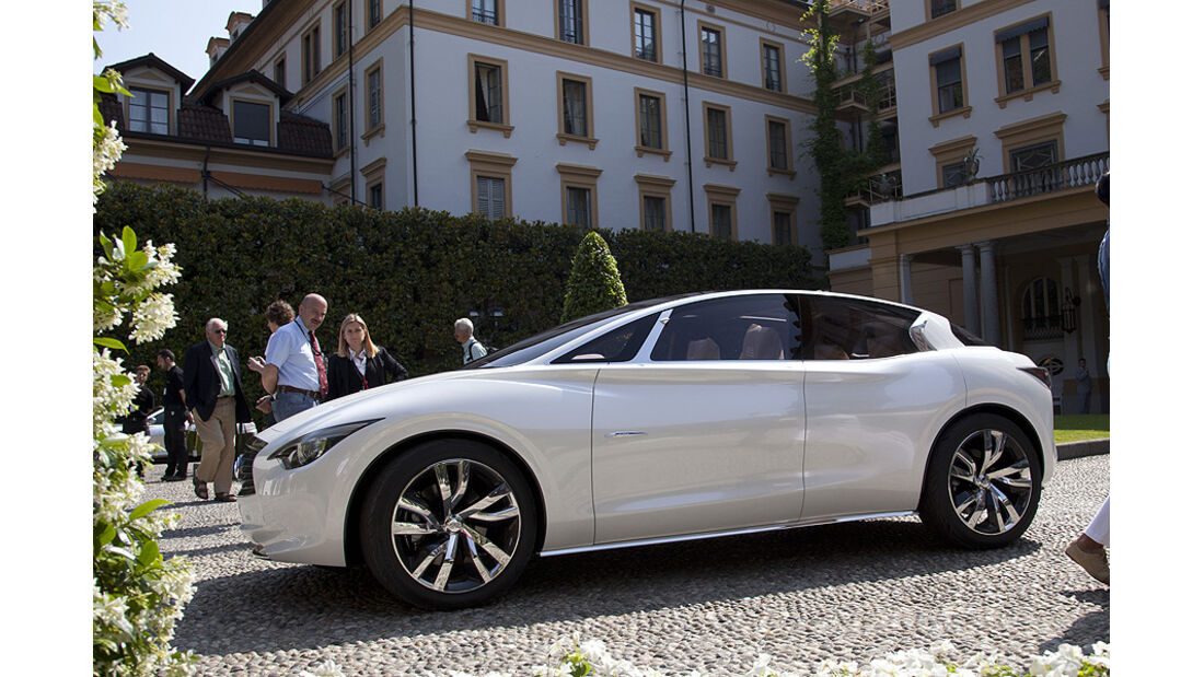 Villa d'Este 2011 Concept Cars Infiniti Etherea