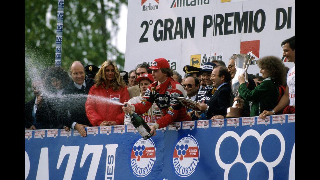 Villeneuve - Pironi - Alboreto - San Marino 1982