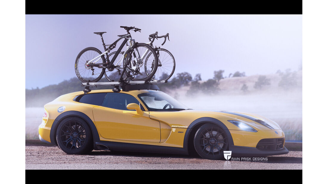 Viper - Photoshop - Shooting Brake - Rain Prisk 2015
