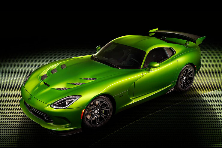 Viper SRT Stryker Green Detroit 2014