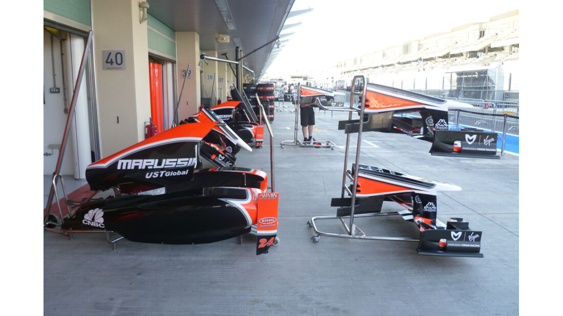 Virgin-Box - GP Abu Dhabi - 10. November 2011