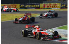 Virgin  - Formel 1 - GP Japan - 9. Oktober 2011