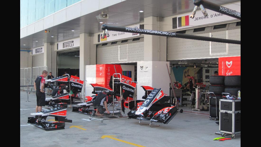 Virgin - Formel 1 - GP Korea - 13. Oktober 2011