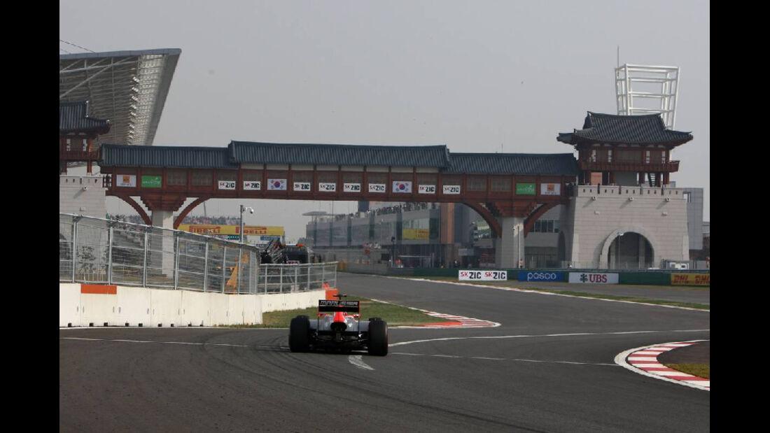 Virgin  - Formel 1 - GP Korea - 15. Oktober 2011