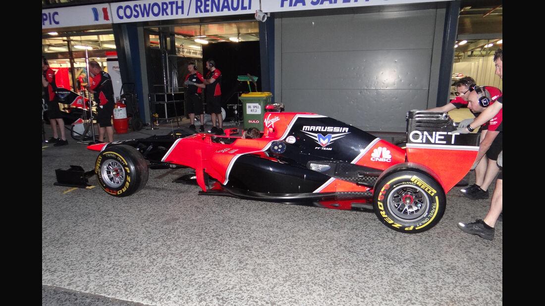 Virgin - GP Australien - Melbourne - 15. März 2012
