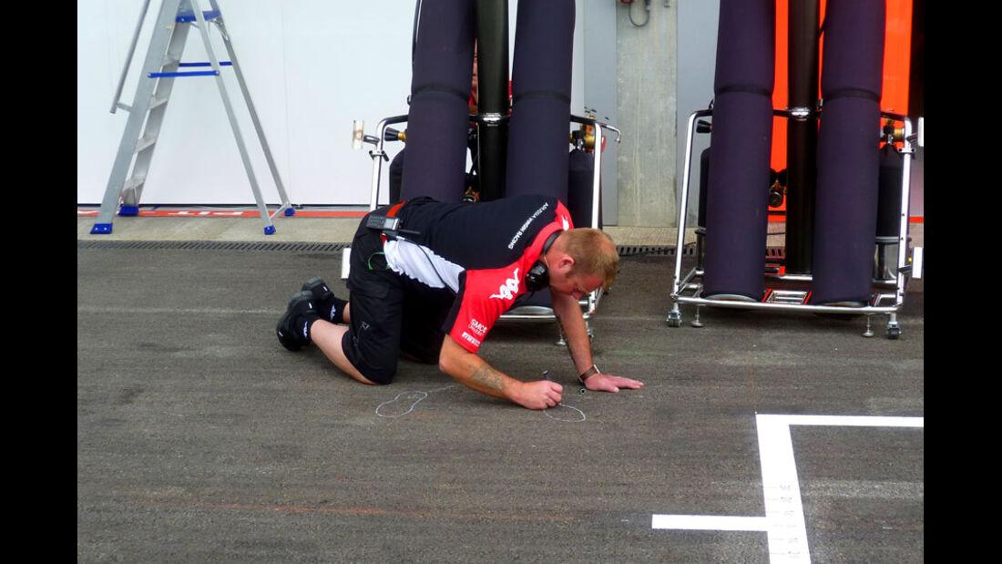 Virgin - GP Belgien - 25. August 2012