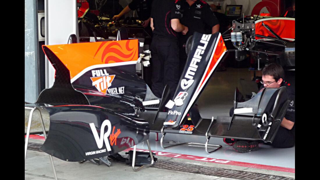 Virgin GP Italien 2010